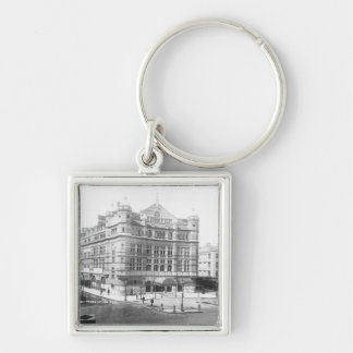 Royal English Opera House, 1891 Silver-Colored Square Keychain