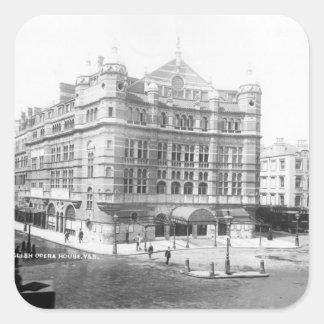 Royal English Opera House, 1891 Square Sticker