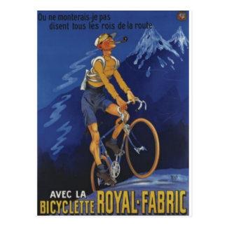 Royal Fabric Postcard