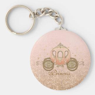 Royal Fairytale Princess Keychains - Coral Fantasy