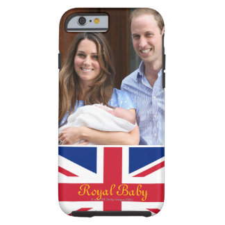 Royal Family at Lindo Wing 3 Tough iPhone 6 Case