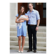 Kate and William with Newborn Products