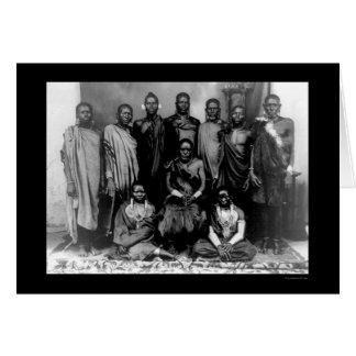 Royal Family in Kenya 1909 Card