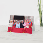 Royal Family | Trooping The Colour 2017 - Closeup Card