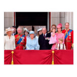 Royal Family | Trooping The Colour 2017 - Closeup Postcard