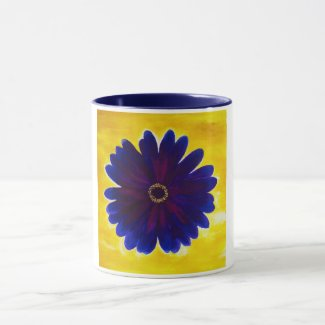 Royal Flower Mug by Alicia L. McDaniel
