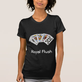 Royal Flush Black Lady's T-shirt