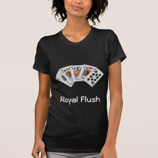 Royal Flush Black Lady's T-shirt