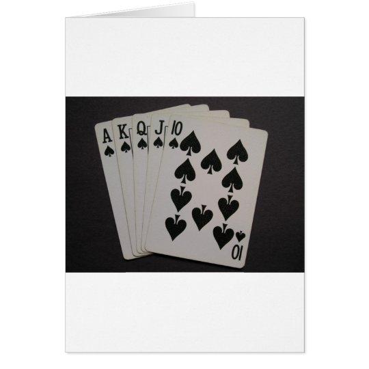 Royal Flush Card