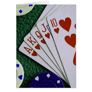 Royal Flush Card