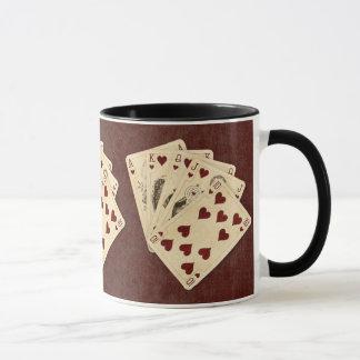 Royal Flush Cards Mug
