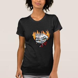 Royal Flush Devil Cat T-Shirt