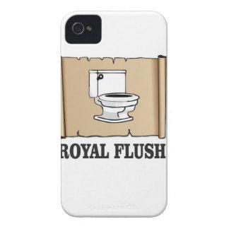 royal flush dump iPhone 4 cover