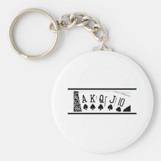 Royal Flush Key Chain