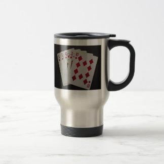 Royal Flush 15 Oz Stainless Steel Travel Mug