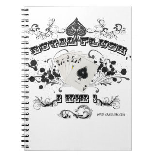 Royal Flush Notebook