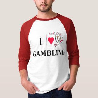 Royal Flush of Love for Gambling T-Shirt