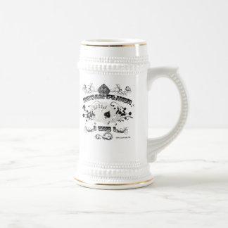 Royal Flush Stein Mug