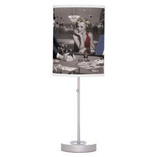 Royal Flush Table Lamp
