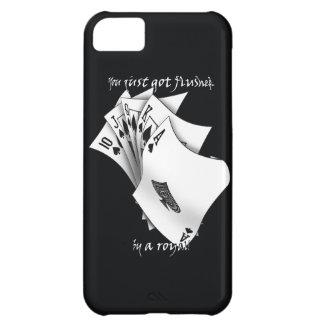 Royal flush tattoo design case for iPhone 5C