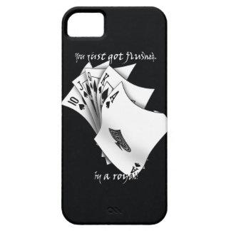 Royal flush tattoo design iPhone SE/5/5s case