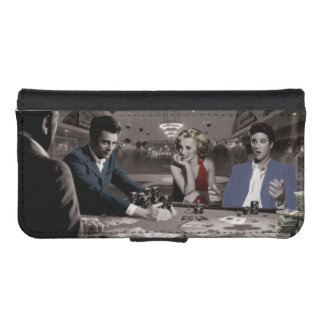 Royal Flush Wallet Phone Case For iPhone SE/5/5s