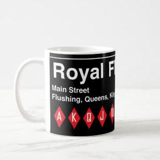Royal Flushing Express Mug by Steve Price