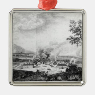 Royal Foundry at Le Creusot in 1787 Metal Ornament