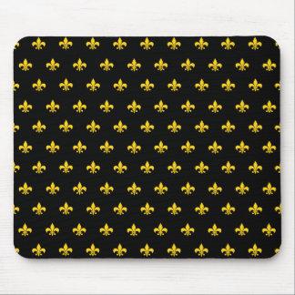 Royal French Black Mousepad