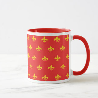 Royal French Red Mug