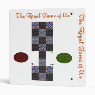 Royal Game of Ur binder
