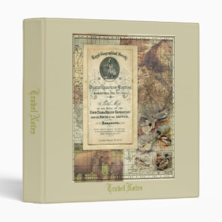 Royal Geographical Society Collage Binder