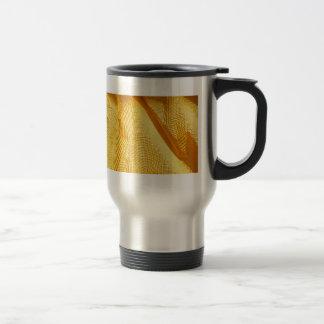 royal gold Graphite Abstract Antique Junk Style Fa Travel Mug
