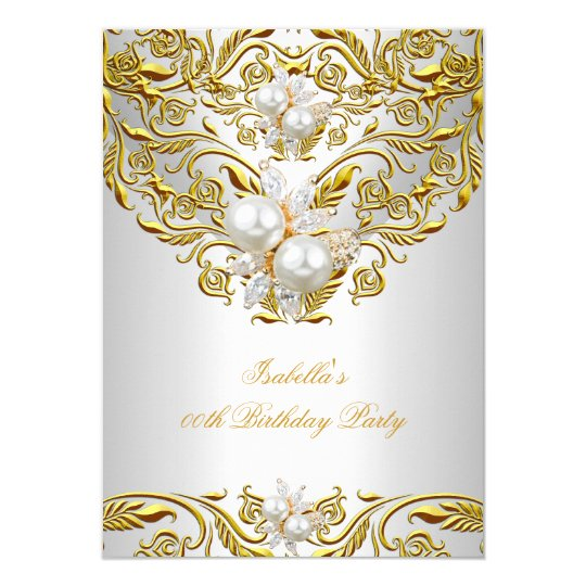 Elegant Birthday Invitations Announcements Zazzle
