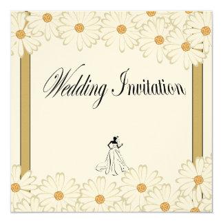 Royal gold wedding invitation
