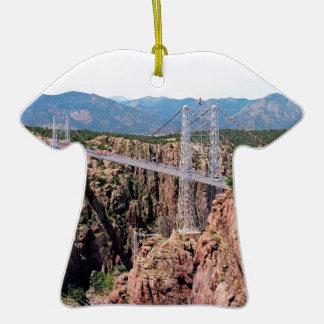 Royal Gorge Bridge,  the highest in USA Christmas Tree Ornament