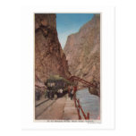 Royal Gorge, CO - View of the Hanging Bridge Postcards