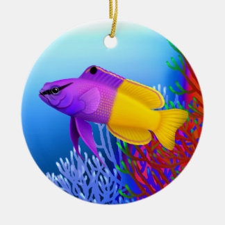 Royal Gramma Basslet Reef Fish Ornament
