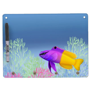 Royal Gramma Reef Fish Dry Erase Board