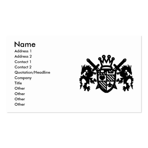 ROYAL_GUARD BUSINESS CARDS