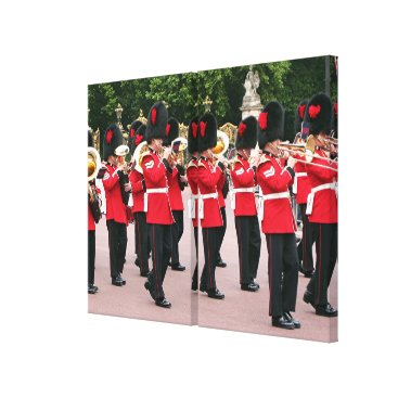 franwestphotography Royal Guards Band, London, England Canvas Print