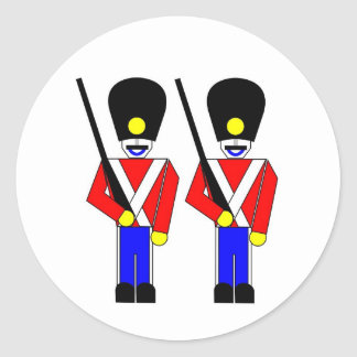 Royal Guardsmen Classic Round Sticker
