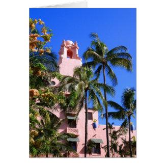 Royal Hawaiian Hotel Card