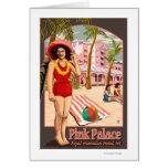 Royal Hawaiian Hotel in Hawaii Greeting Card