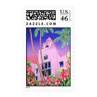 Royal Hawaiian Hotel Stamp