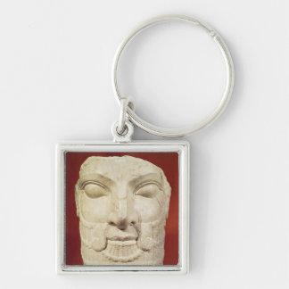 Royal head keychain
