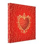 Royal Heart Canvas Print