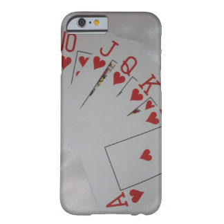 Royal Heart Flush, Barely There iPhone 6 Case