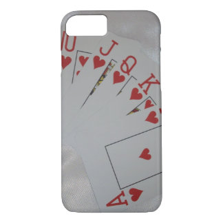 Royal_Heart_Flush,_Barely_There_iPhone_6_Case. iPhone 7 Case