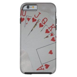 Royal_Heart_Flush,_iPhone_6_Case. Tough iPhone 6 Case